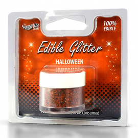 Purpurina comestible colores Halloween