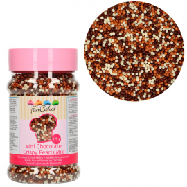 Mini Perlas tres chocolates 175 g Funcakes