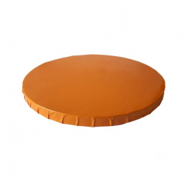 Base redonda Naranja 25 cm grosor 12 mm