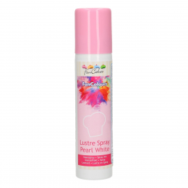 Spray efecto terciopelo Blanco perla 100 ml Funcakes